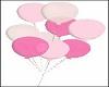 Hold Mixed Pink Ballons