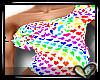 ♡ Petals Top (Rainbow)