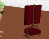soft red towels