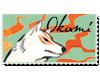 Okami Fan Stamp