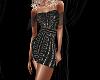 Black Pearl Sequin Dress