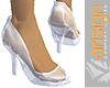 Vari Crystal White Shoes