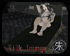 Zen Black silk lounge