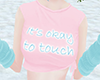 ~K~Okay to touch croptop