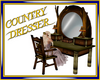 Medieval country dresser
