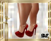 DL SHOES RED YANELY