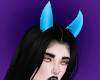 Req. Blue Devil horns.