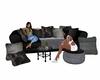 Multi pose chat sofa