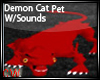 Demon Cat Petw/sound