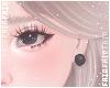 F. Pearl Earrings Black