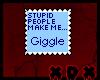 Stupid People Stamp