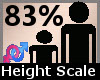 Height Scaler 83% F A