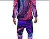 Spiral Galaxy Pajamas M