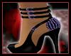 Desiree Purple Heels