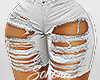 ṩRipped Shorts rll Wht