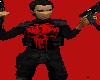 RED PUNISHER SKULL TOP