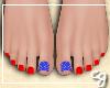 cg. Patriotic Pedicure