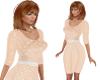 TF* Retro Cream Dress