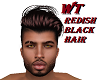 WT/REDISH/BLACK/HAIR