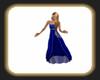 Caz azul gown