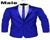 Dinner Jacket Blue Male