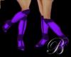 [B]violet stiletto boots