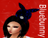 black and blue bunny!!