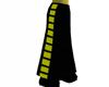Black Yellow  Skirt