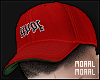 Hyped Out Red Cap