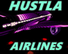 HUSTLA AIRLINES AIRPLANE