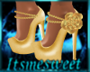 Orla Gold Bridal Heels
