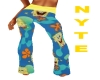 Spongebob PJ pants.