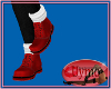 (Y) Red Hike Boots