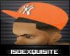 [ISE]NY Orange Hat