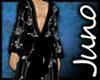 Juno Silk Kimono Black