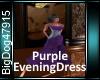 [BD]PurpleEveningDress