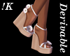 !K!High Heel Wedge Shoes
