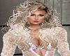 MX Blond Perm Hair