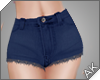 ~AK~ Cutoff Jeans: Navy