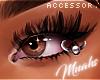 $ Eyelid Piercing-Silver