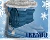 J. iWINTER; Blue Uggs