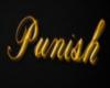 Punish Sign (gold)
