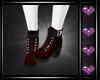e Paris Boots Red