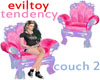 evil tendency couch