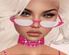 Pink Club Glasses