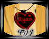 Ryan heart Necklace