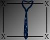 .X. Santa Baby Tie Blue