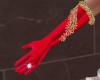 Santa Baby Red Gloves