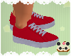 +Fireman Red Sneakers