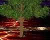 romanic tree swing